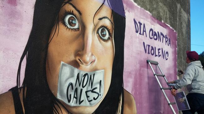 mural_dia_contra_a_violencia_de_xenero_vella_escola